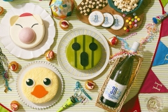 Final Fantasy 30th Anniversary - Torte e vino