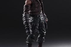 Play Arts Kai - Barret, Final Fantasy VII Remake #1