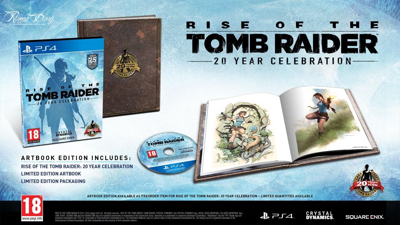 Rise of the Tomb Raider: 20 Year Celebration - Preorder Bonus