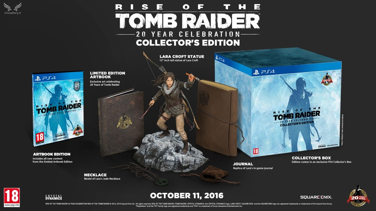 Rise of the Tomb Raider - Collector\'s Edition per PlayStation 4