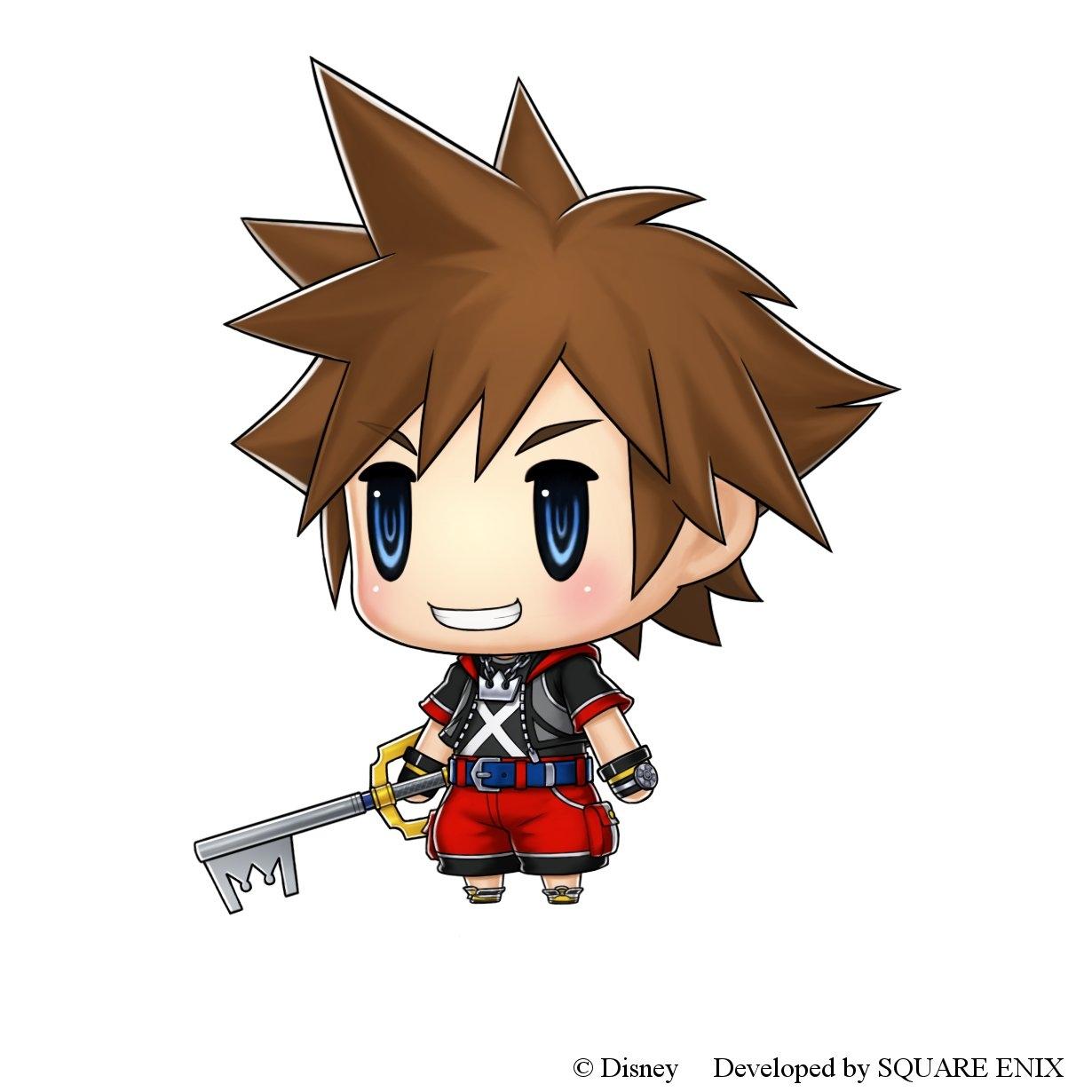 Sora in World of Final Fantasy