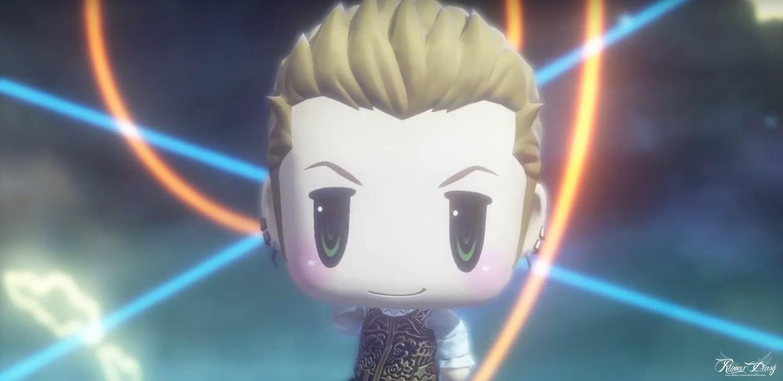 World of Final Fantasy - Balthier, da FFXII