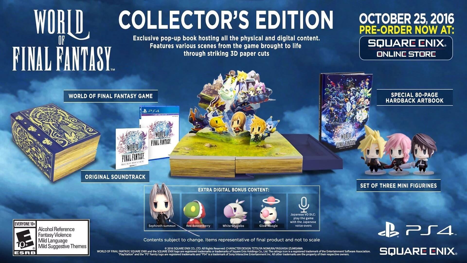 World of Final Fantasy - Collector\'s Edition