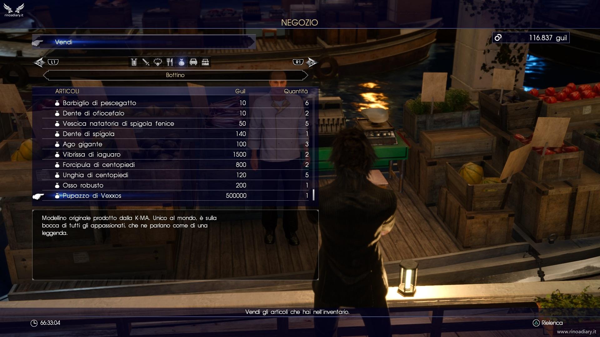 Final Fantasy XV - Come ottenere 500.000 Guil facilmente
