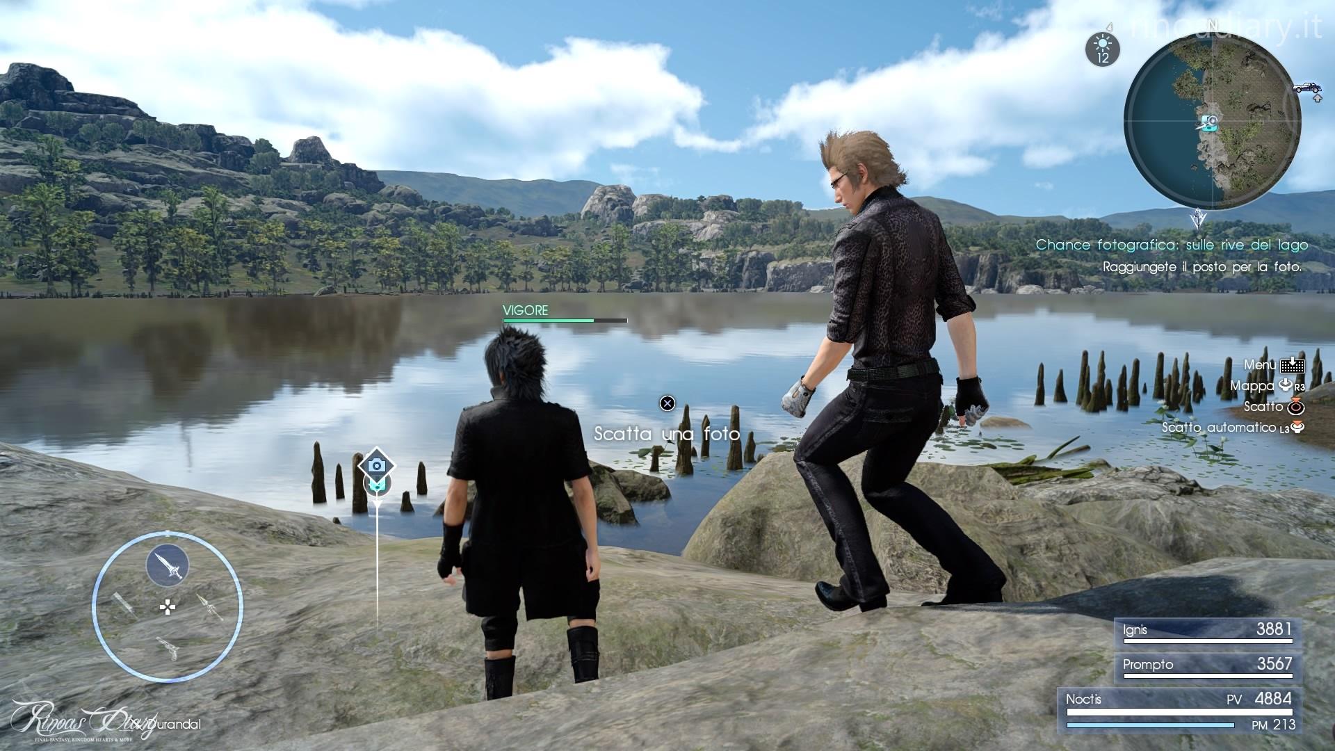 Missione - Sulle rive del lago - Final Fantasy XV