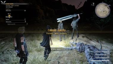 Richiesta di caccia Parassiti della prateria - Final Fantasy XV