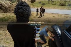 Missione auto in panne - Afflitti alla guida - Final Fantasy XV