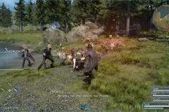 Richiesta di caccia - Il mostro nella palude - Final Fantasy XV