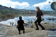 Chance fotografica - Sulle rive del lago - Final Fantasy XV