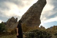 Chance fotografica - Vetta solitaria - Final Fantasy XV