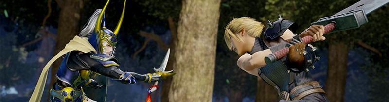 Annunciato un nuovo Dissidia Final Fantasy, Arcade version