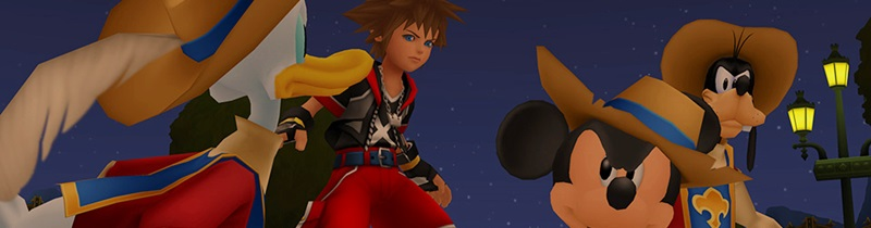Primi 5 screenshots per Kingdom Hearts HD II.8!