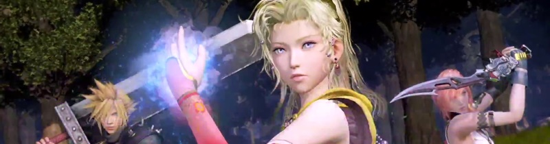 I 14 video dei personaggi di Dissidia Arcade Final Fantasy!