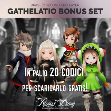 Partecipa e vinci 20 codici per il Gathelatio Bonus Set!