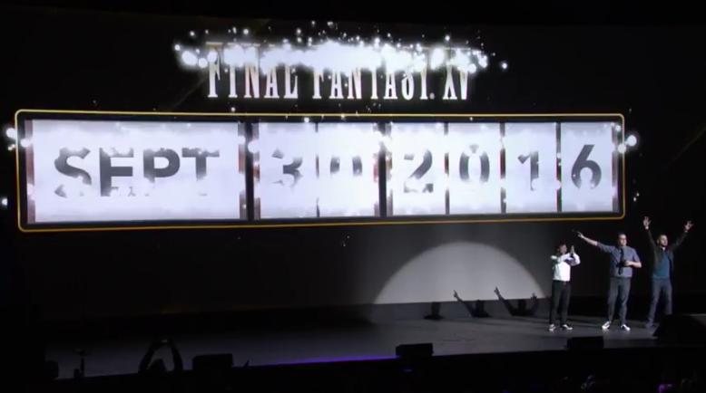 Final Fantasy uscirà in contemporanea mondiale il 30 Settembre 2016 su PS4 e Xbox One!