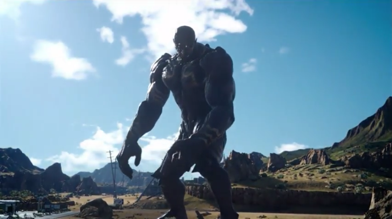 L'invocazione Titan in Final Fantasy XV