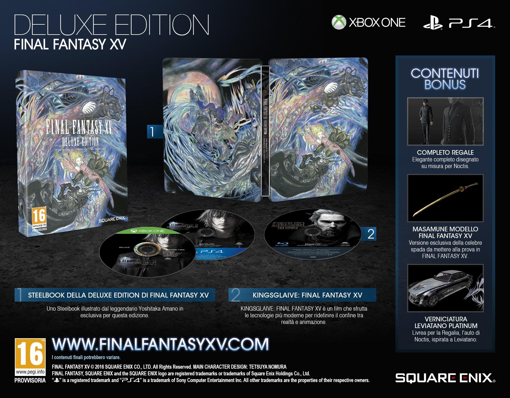 Final Fantasy XV: Deluxe Edition
