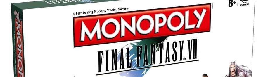 Il Monopoly di Final Fantasy VII in vendita da Aprile 2017!