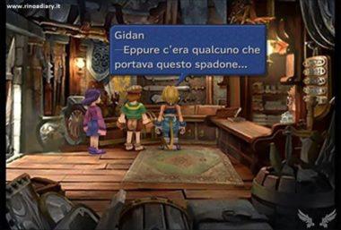 Final Fantasy IX - Citazione a Cloud di FFVII nella versione italiana