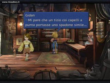 Final Fantasy IX - Citazione a Cloud di FFVII nella mod di Caledor