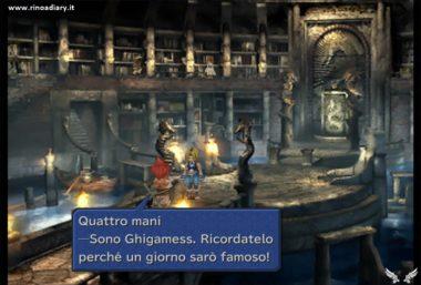 """Final Fantasy IX - Il nome di """"Gilgamesh"""" nella versione italiana"""