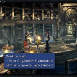 Final Fantasy IX - Il nome corretto di Gilgamesh nella mod di Caledor