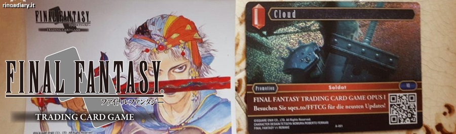 Final Fantasy Trading Card Game: come si gioca!
