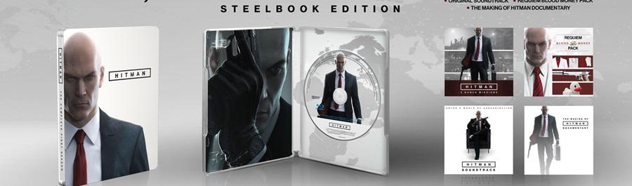Hitman: Steelbook Edition arriva il 31 Gennaio 2017!