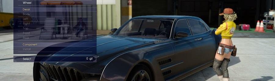 Regalia, auto di Final Fantasy XV, sarà personalizzabile in ogni aspetto!