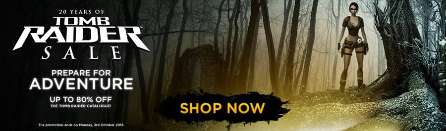 Sconti fino all'80% per la saga Tomb Raider!