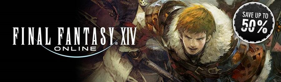 Sconti fino al 50% su Final Fantasy XIV Online!
