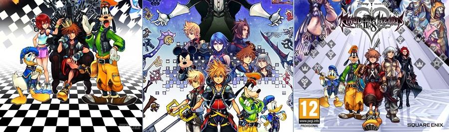 Le cover delle Collection di Kingdom Hearts simboleggiano il cammino verso KHIII