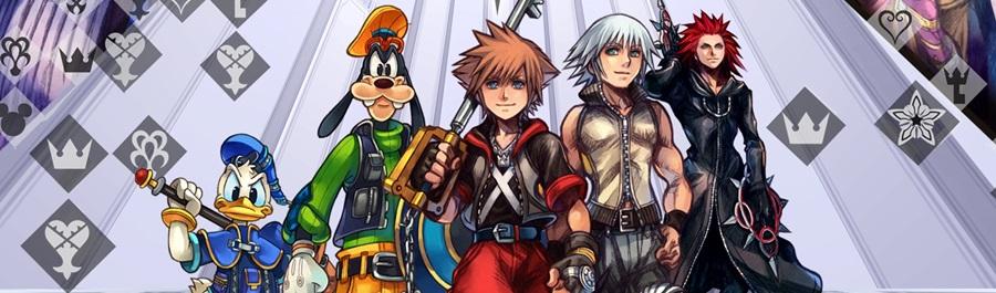 Cover europea e americana di Kingdom Hearts 2.8 HD Limited Edition!