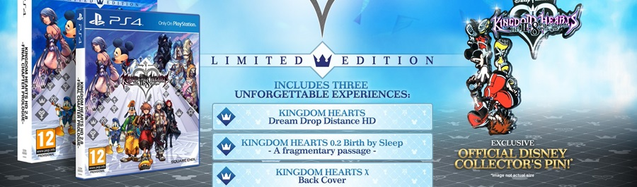Annunciata la Limited Edition di Kingdom Hearts 2.8 HD Final Chapter Prologue!
