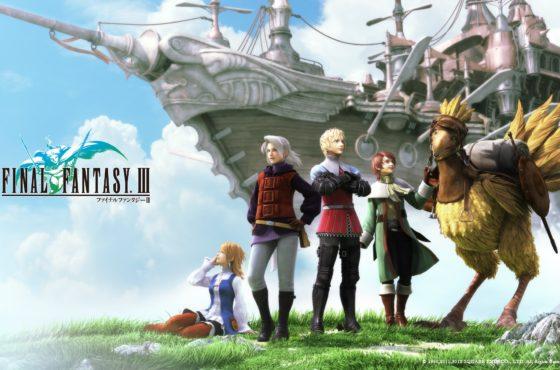 Final Fantasy III in sconto del 50% su Android e iOS!