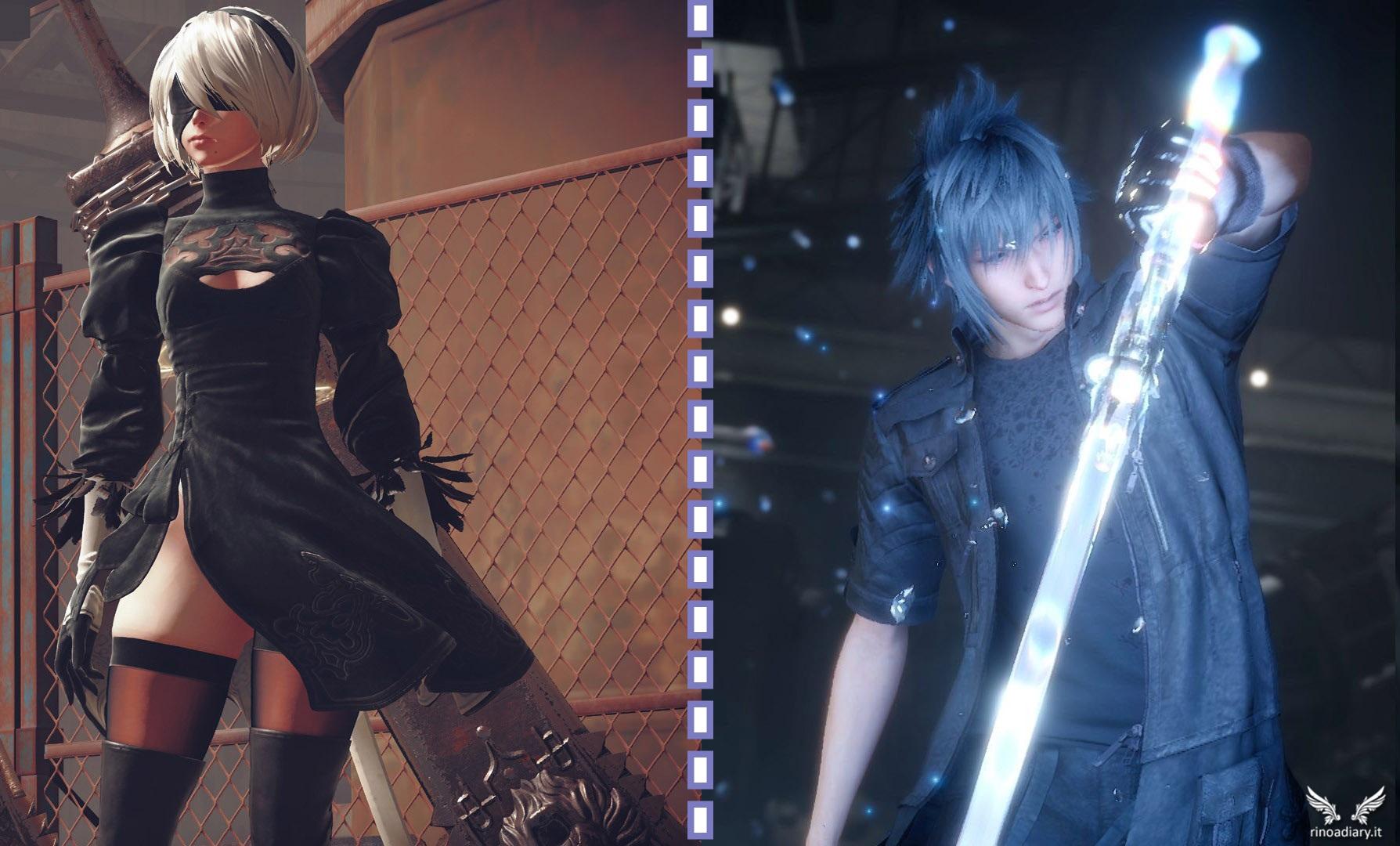 In arrivo una collaborazione tra Final Fantasy XV e NieR: Automata!