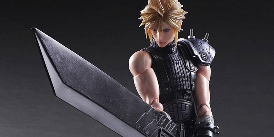 Play Arts Kai di Cloud e Barret da Final Fantasy VII Remake