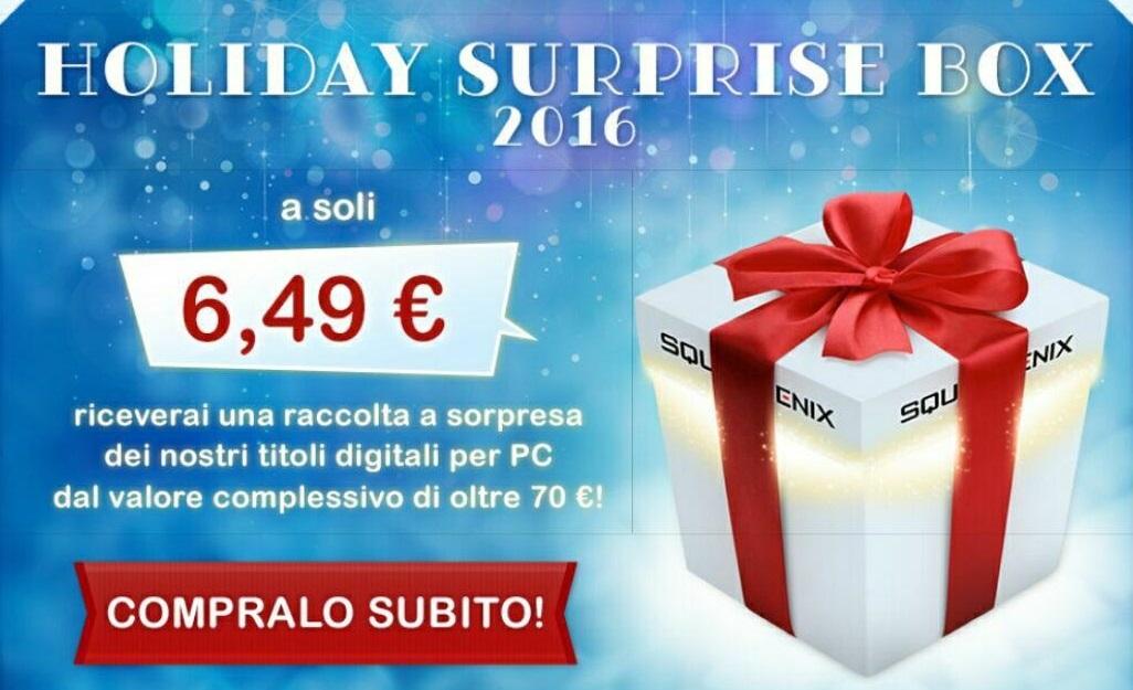 Torna la Holiday Surprise Box di Square-Enix!