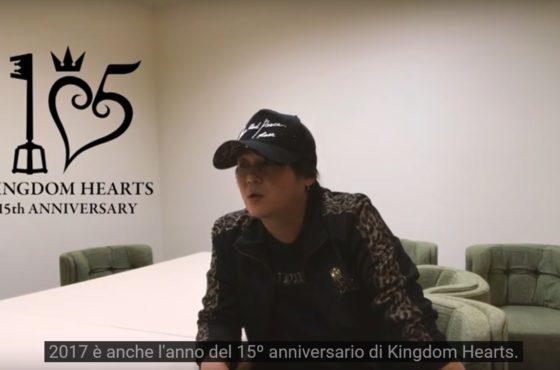 Un video d'auguri dal director di Kingdom Hearts!