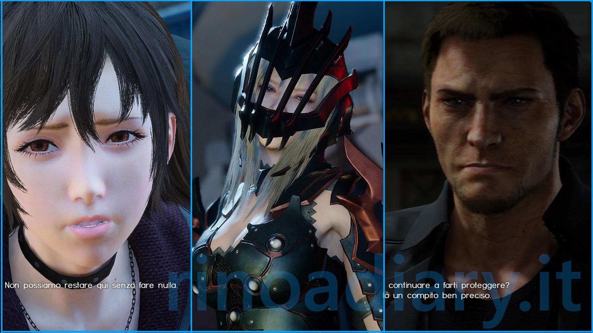 Aranea, Cor e Iris personaggi giocabili nel DLC Comrades di Final Fantasy XV!