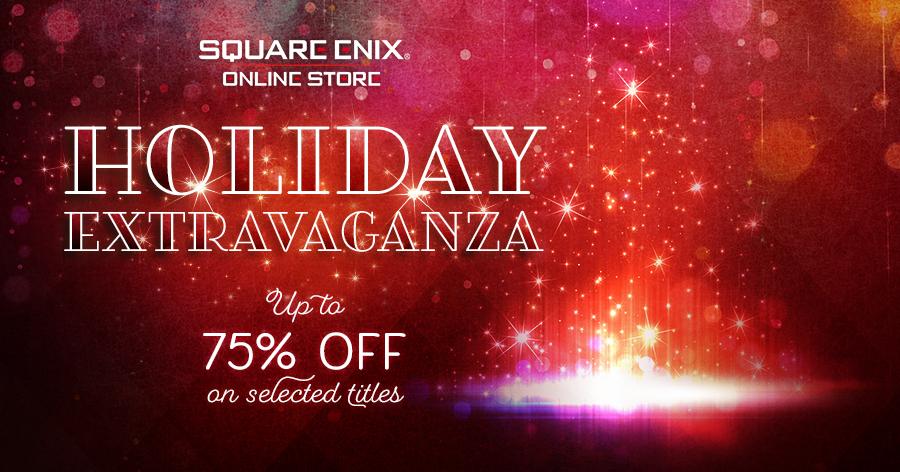 Arrivano i saldi natalizi su Square-Enix Store!