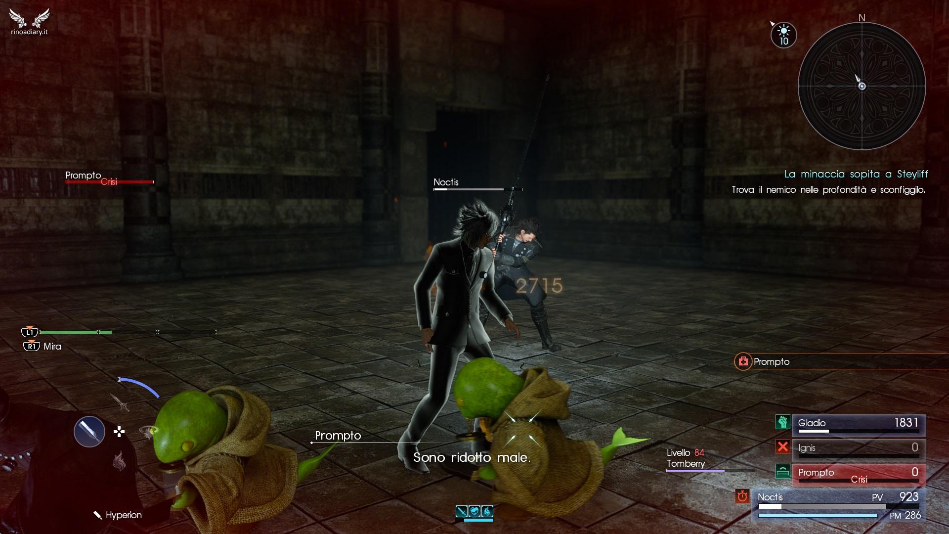 Final Fantasy XV – Alterazioni di stato