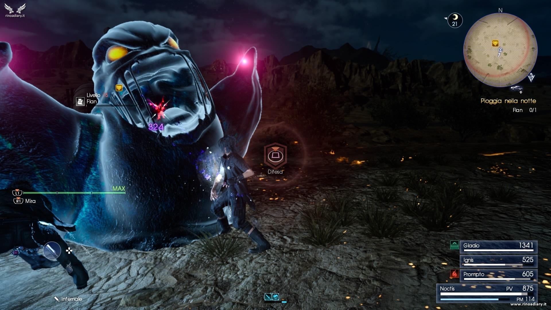 Final Fantasy XV – Missioni secondarie del Capitolo 2, sezione 2 – Leide: regione della linea difensiva nord di Duscae