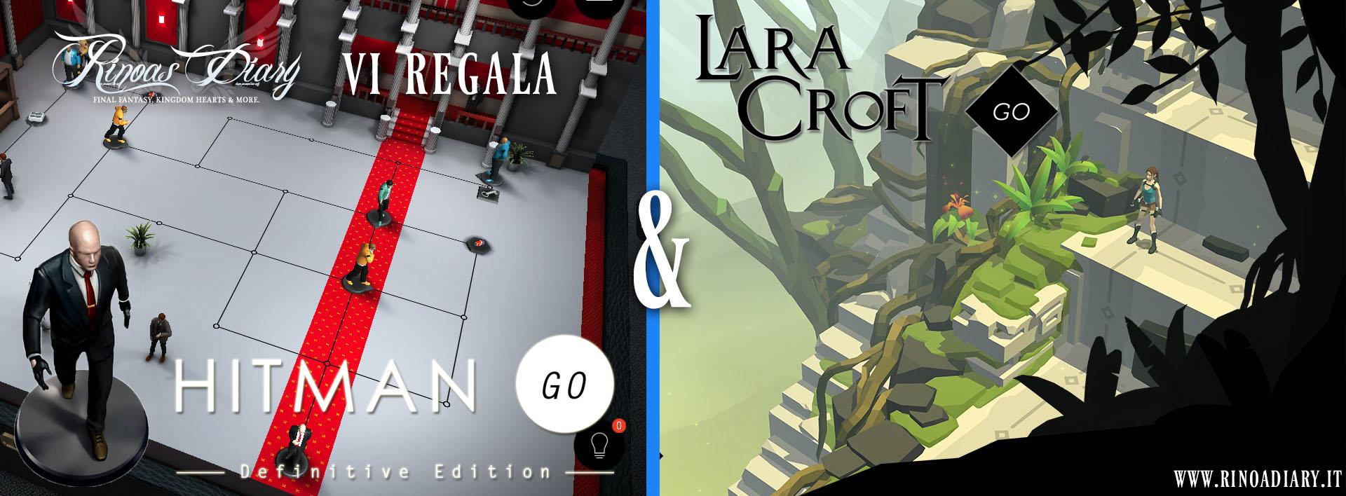 Rinoa's Diary vi regala Hitman GO e Lara Croft GO!
