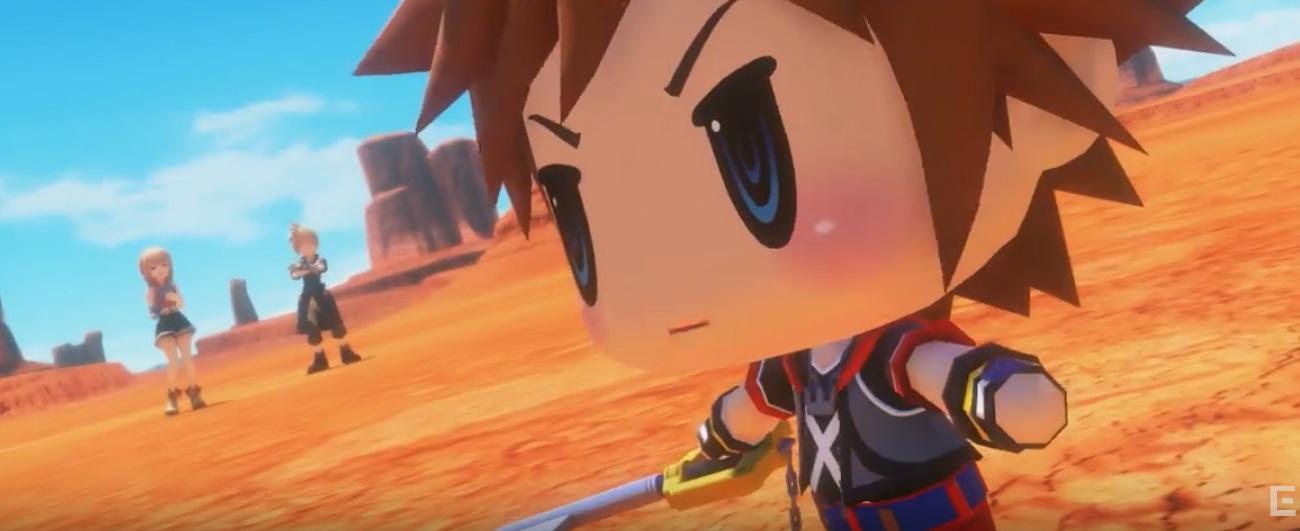 Sora di Kingdom Hearts arriva in World of Final Fantasy!