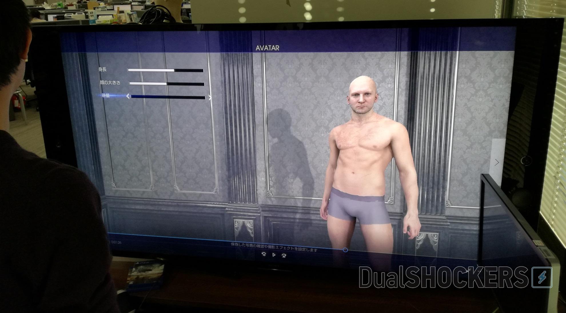 Una prima occhiata al sistema di creazione avatar di Final Fantasy XV