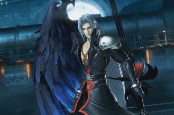 Sephiroth veste i panni di Kingdom Hearts per Dissidia Arcade Final Fantasy