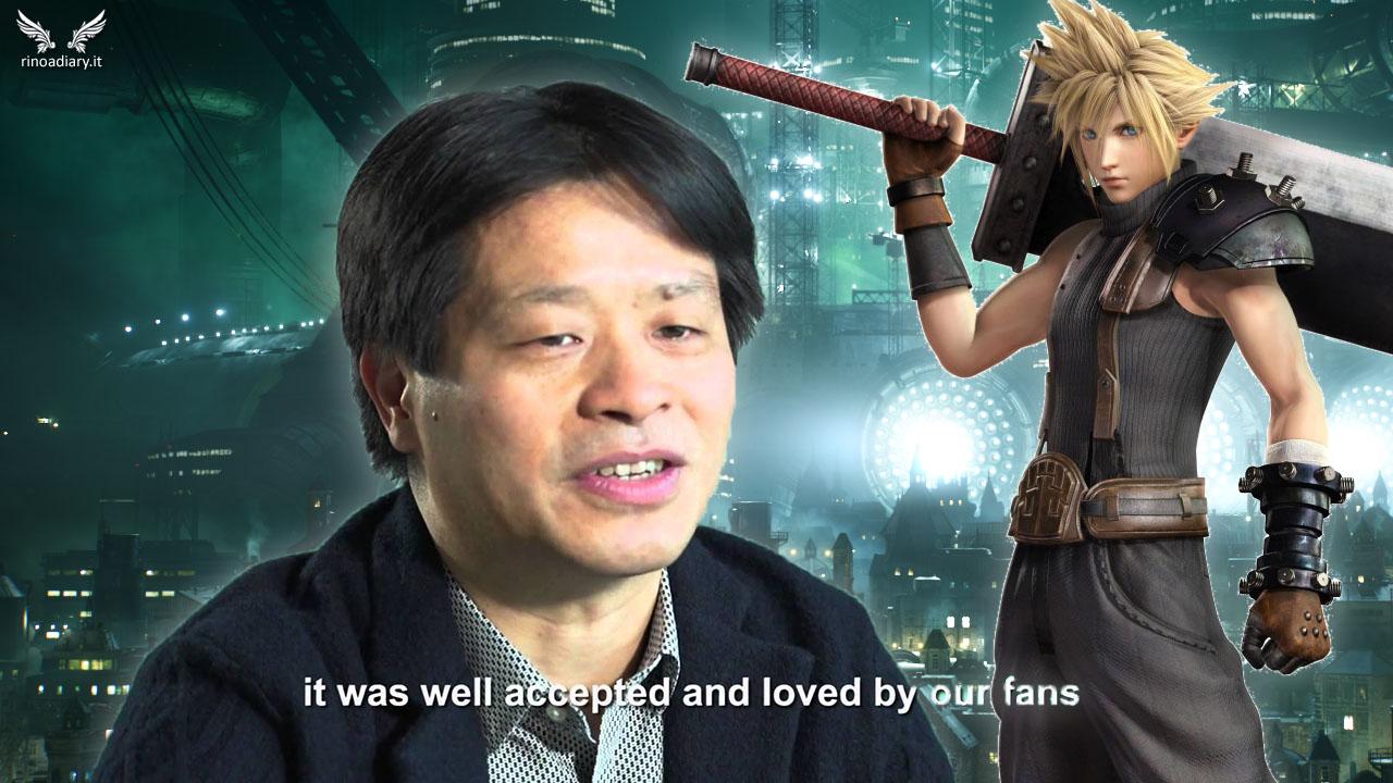 Kitase parla dello sviluppo di Final Fantasy VII Remake!