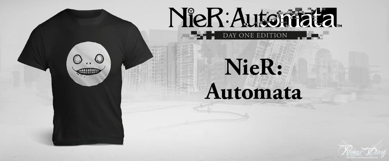 La T-Shirt di NieR: Automata in regalo con il preorder!