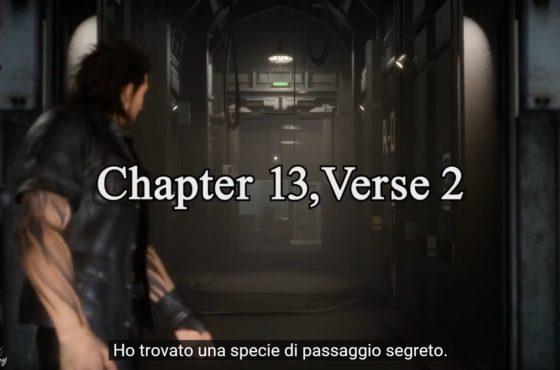 Nuovo aggiornamento per Final Fantasy XV: Capitolo 13, verse 2!